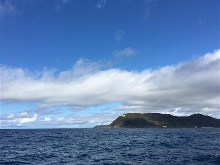 Cape Muroto as Seen From the Sea